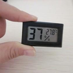 Új mini digitális LCD beltéri hőmérséklet páratartalom mérő hőmérő higrométer