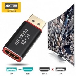 Kijelzőport DP Male to HDMI női kábel átalakító adapter PC 4K * 2K 3D