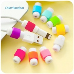 Világítós USB töltő Kábel védő Kábelvédő töltő fülhallgató Apple MacBook Pro Air Iphone