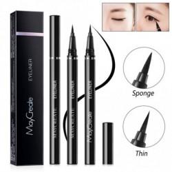MayCreate 0.6ml Fekete szemhéjárnyaló ápoló Női Makeup Vízálló hosszantartó smink ceruza ecset