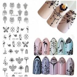 1db köröm dísz dekoráció matrica manikűr díszítő tippek DIY