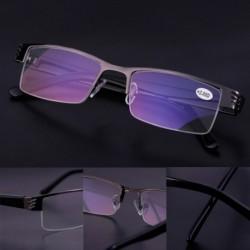 1db Divatos Női Férfi Kék bevonatos sugárzásvédő olvasó szemüveg  1,0- 4,0