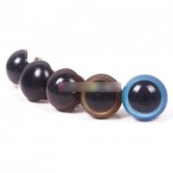 5pár 12mm játék maci plüssállat szem több színben