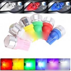 2db  T10 W5W 194 1.5W LED autó izzó 6 szín
