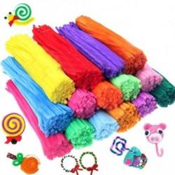 100db vegyes színű színes zsenilia drót kreatív kiegészítő