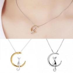 1db női divatos lánc nyaklánc medál ékszer ajándék bizsu kiegészítő