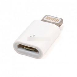 Micro USB aljzat 8 tűs csatlakozó adapter iPhone