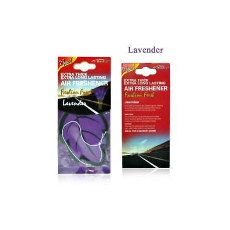 60dc2cb45c Levendula - Auto Shine Paper függő Autó illatosító Vanilla illatosított  illatú illatú alak