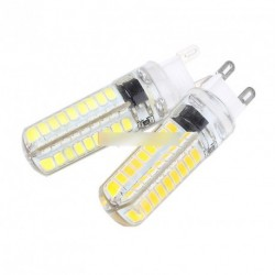 G9 Silica Gel 10W 72LED 2835 SMD izzó  220V 1db