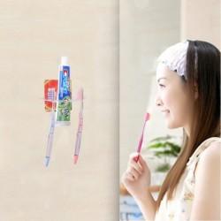 Átlátszó fürdőszobai fogkefe tartó tároló