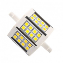 R7S 10W 24LED 5050 SMD reflektor izzó lámpa 78mm