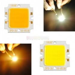 1db 10W COB LED négyzet fény lámpa gyöngy Chip 15V