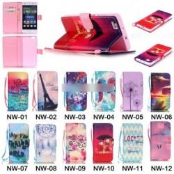 bőr kártya pénz tartó Flip tok  Huawei P8 Lite 1db