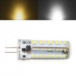 1db G4 81 LED Silica Gél 3014 izzó lámpa ACDC 12 V