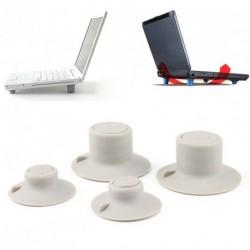 4 db csúszásmentes Pad hűtő állvány Macbook Air